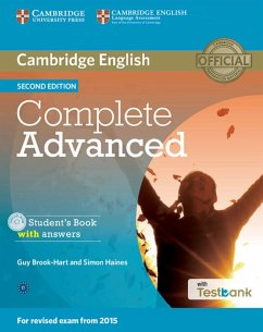 Testbank Complete Advanced Second edition. Stud...