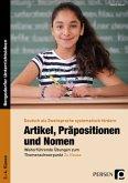 Artikel, Präpositionen und Nomen - Zu Hause, 3./4. Klasse