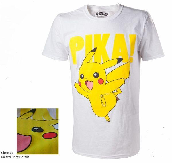 Pokemon Pikachu Pika! T-Shirt -L-