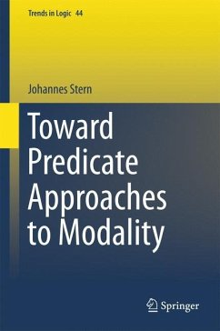 Toward Predicate Approaches to Modality - Stern, Johannes