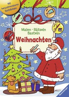 Malen - Rätseln - Basteln. Weihnachten (Mängele...