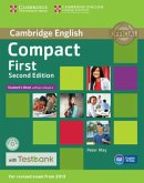Testbank Compact First Second edition. Student's Book without answers with CD-ROM with Testbank