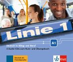 4 Audio-CDs zum Kurs- und Übungsbuch A1 / Linie 1