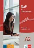 2 Audio-CDs + DVD / DaF im Unternehmen Bd.A2
