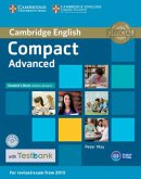 Testbank Compact Advanced. Student's Book without answers with CD-ROM with Testbank