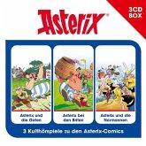 Asterix, Hörspielbox 3, 3 Audio-CDs