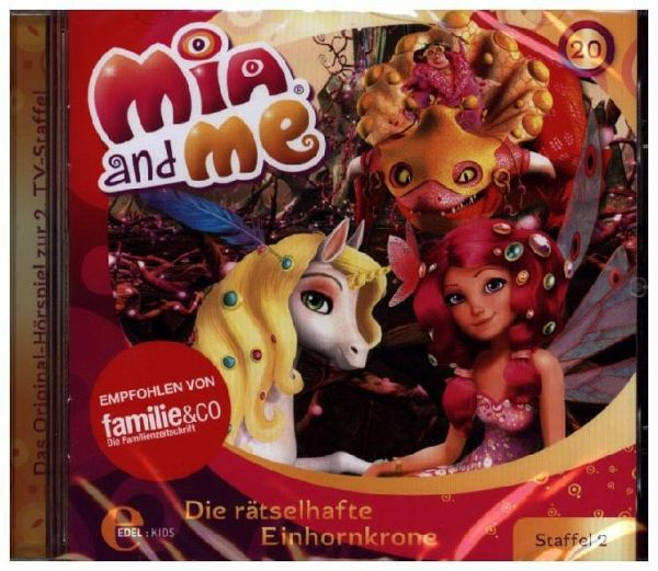 mia and me die r tselhafte einhornkrone 1 audio cd. Black Bedroom Furniture Sets. Home Design Ideas