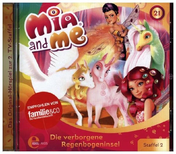 mia and me die verborgene regenbogeninsel 1 audio cd. Black Bedroom Furniture Sets. Home Design Ideas