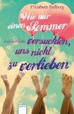 Wie wir einen Sommer (vergeblich) versuchten, uns nicht zu verlieben (eBook, ePUB)