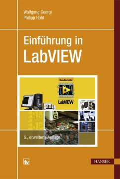 Einführung in LabVIEW (eBook, PDF) - Georgi, Wolfgang; Hohl, Philipp