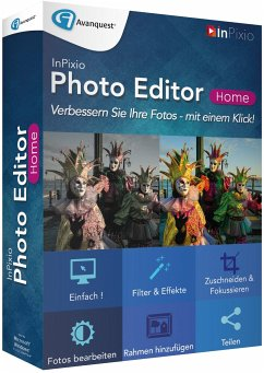 InPixio Photo Editor Home (Fotobearbeitungssoft...