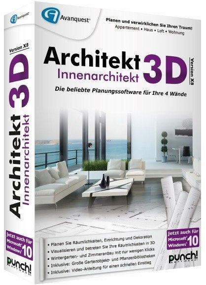 Architekt 3d x8 innenarchitekt planungssoftware f r ihre for Innenarchitekt preise