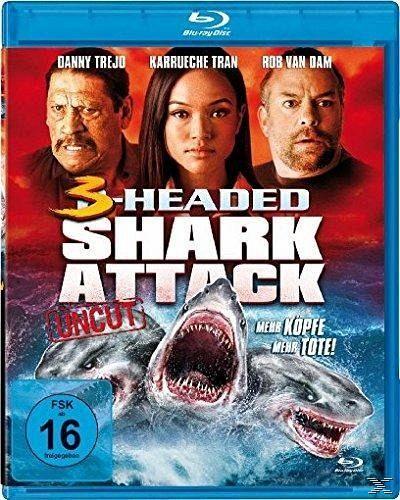 3headed shark attack film auf bluray disc buecherde
