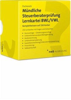 Mündliche Steuerberaterprüfung Lernkartei BWL/VWL - Fischenich, Hugo