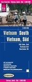 Reise Know-How Landkarte Vietnam Süd (1:600.000); South Vietnam / Viet Nam sud / Vietnam sur