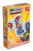 Jumbo 19429 - DC Super Friends Domino, Kartenspiel
