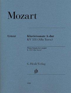 Klaviersonate A-dur KV 331 - Mozart, Wolfgang Amadeus - Klaviersonate A-dur KV 331 (300i) mit türkischem Marsch (Alla Turca)