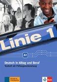 Linie 1 A1. Testheft mit Audio-CD