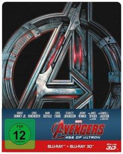 Avengers: Age of Ultron (Blu-ray 3D, Steelbook)