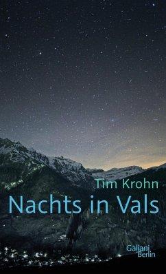 Nachts in Vals (eBook, ePUB) - Krohn, Tim