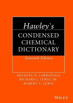 Hawley's Condensed Chemical Dictionary - Lewis, Robert A.