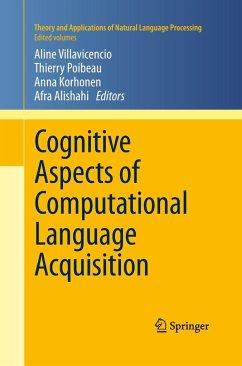 Cognitive Aspects of Computational Language Acquisition