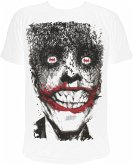Joker Smile T-Shirt White Xl