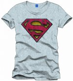 Superman Logo T-Shirt Used L