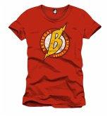 Big Bang Theory T-Shirt Red Xl