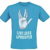 Star Trek Live T-Shirt Blue L