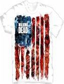 The Walking Dead American Gore T-Shirt Wh.Xl