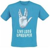 Star Trek Live T-Shirt Blue Xl