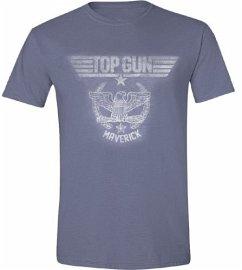 Top Gun Eagle T-Shirt Blue M