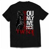 The Walking Dead Youonlylivetwice T-Shirt L