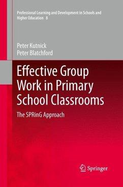 Effective Group Work in Primary School Classrooms