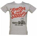 Better Call Saul Saul Number T-Shirt Grey L