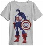 Captain America Hero T-Shirt Grey L