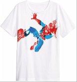 Spiderman - JUMP - T-Shirt - Größe L - weiss