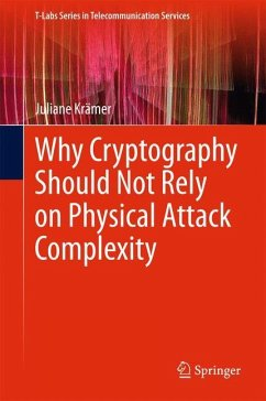 Why Cryptography Should Not Rely on Physical Attack Complexity - Krämer, Juliane