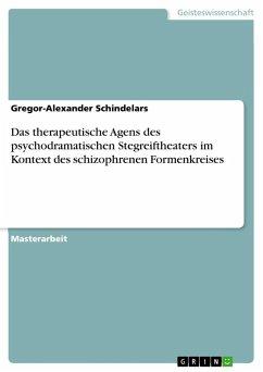 Das therapeutische Agens des psychodramatischen Stegreiftheaters im Kontext des schizophrenen Formenkreises