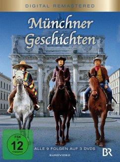 Münchner Geschichten Folgen 1-9 Digital Remastered - Halmer,Günther Maria/Vierock,Frithjof