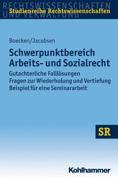 Schwerpunktbereich Arbeits- und Sozialrecht (eBook, ePUB) - Boecken, Winfried; Jacobsen, Daniel