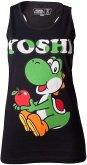 Nintendo Top (Damen) -L- Yoshi , Schwarz