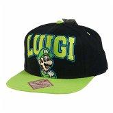 Nintendo Cap Luigi, schwarz/grün