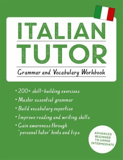 Italian Tutor: Grammar and Vocabulary Workbook (Learn Italian with Teach Yourself) - Guarnieri, Maria; Sturani, Federica