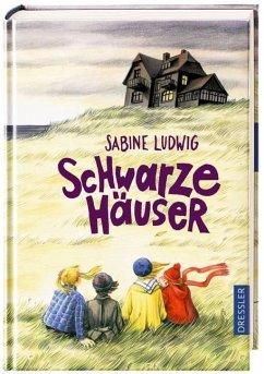 Schwarze Häuser (Mängelexemplar)