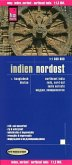 Reise Know-How Landkarte Indien, Nordost (1:1.300.000); Notheast India / Inde, nord-est / India noreste