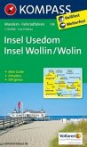 Kompass Karte Insel Usedom / Insel Wollin /Wolin