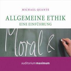 Allgemeine Ethik - Eine Einführung (Ungekürzt) (MP3-Download) - Quante, Michael