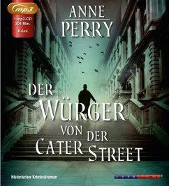 Der Würger von der Cater Street, 1 MP3-CD - Perry, Anne
